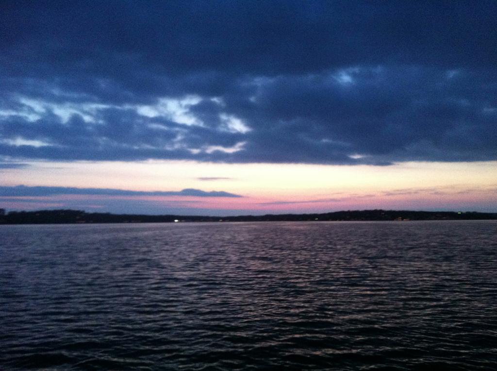 Snygg himmel - måste ju hålla hög estetisk klass på bloggen...