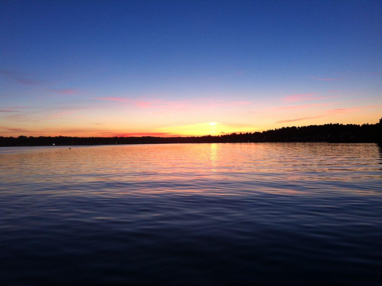 Den obligatoriska solnedgångsbilden