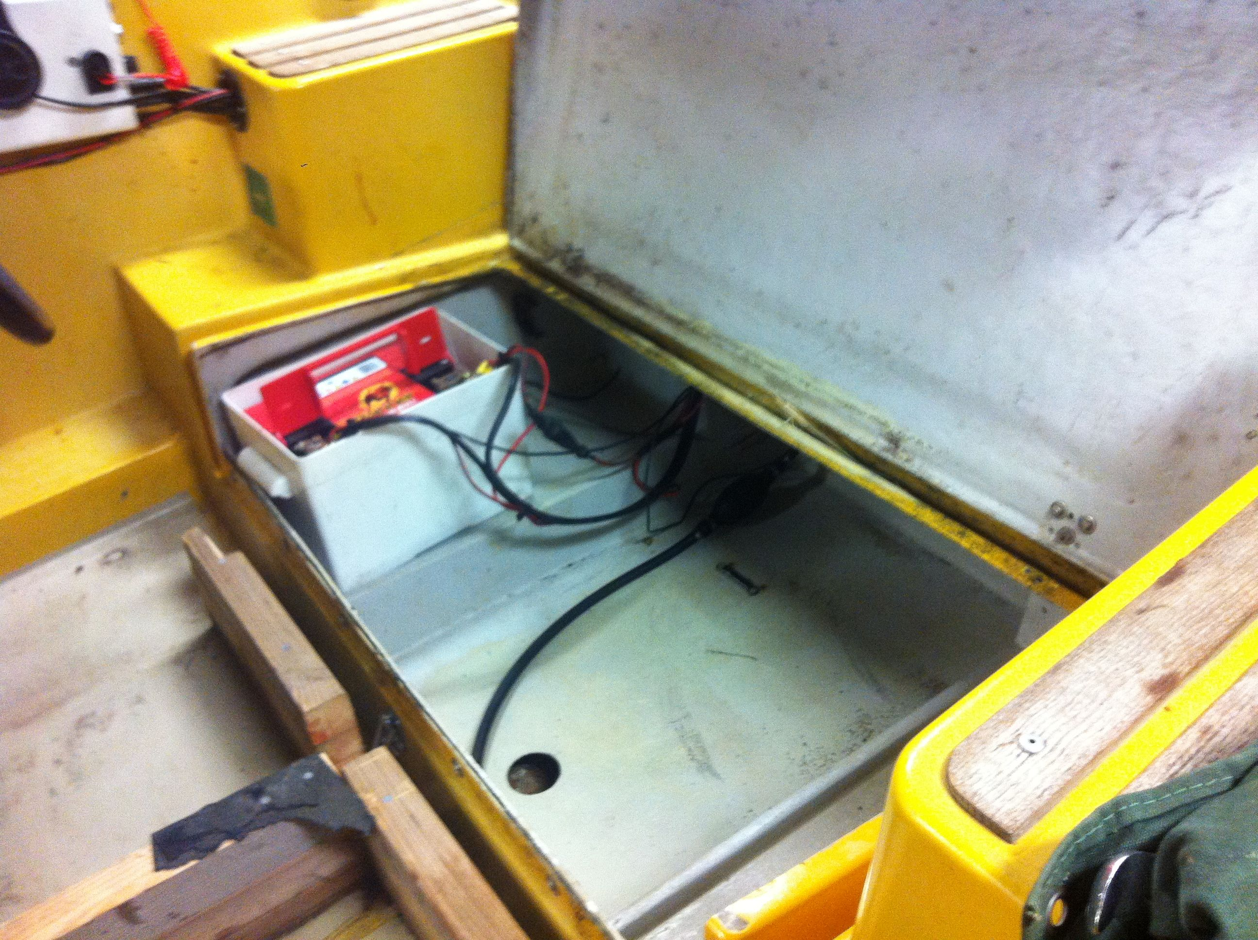 Mitt i meket - ny lösningar för kablarna till elmotorn