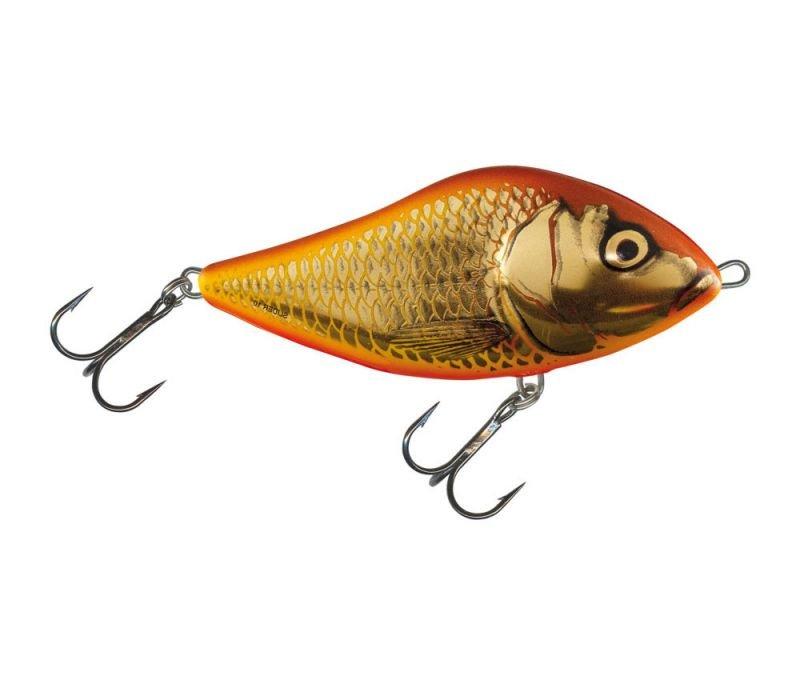 Ny färg som jag började gilla direkt - svårt att motstå blänken från denna - både för fisk och fiskare :-)