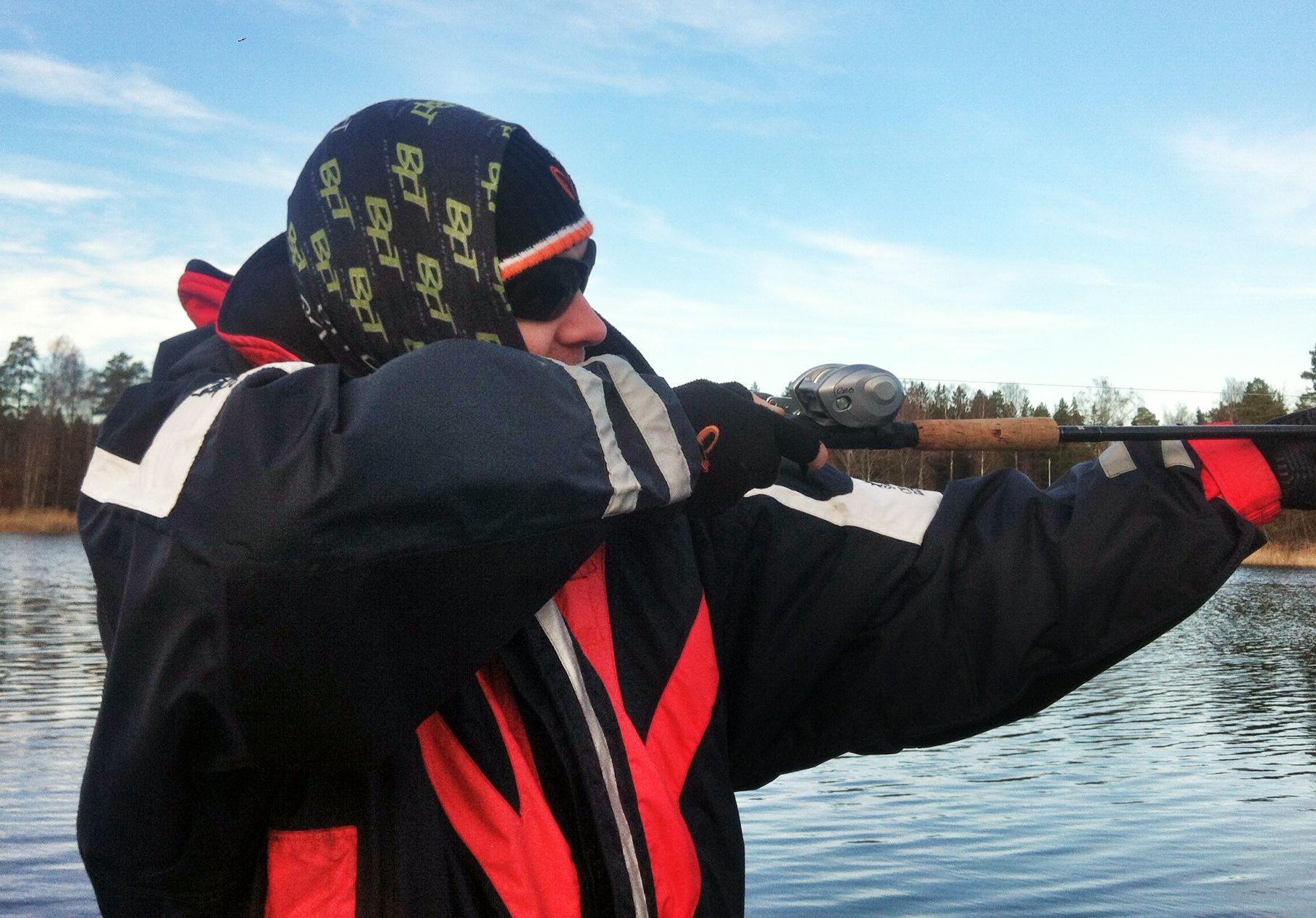 Taliban-Peter roar sig med prickskytte när fisket är trögt