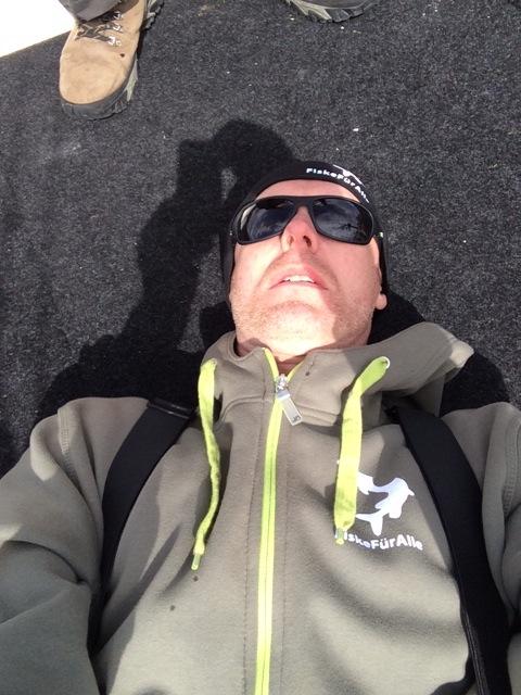 Flygspaningsläge Buster RS - Peter har tröttmössa