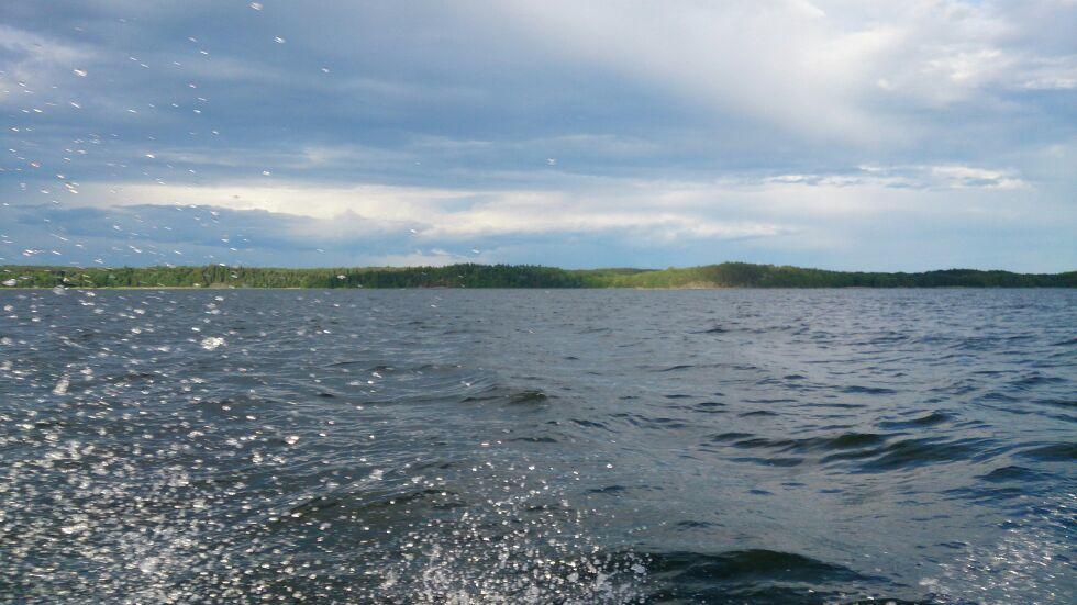 Man vet att man haft trögt fiske när man kommer hem med mer fina landskapsbilder än bilder på fiskar