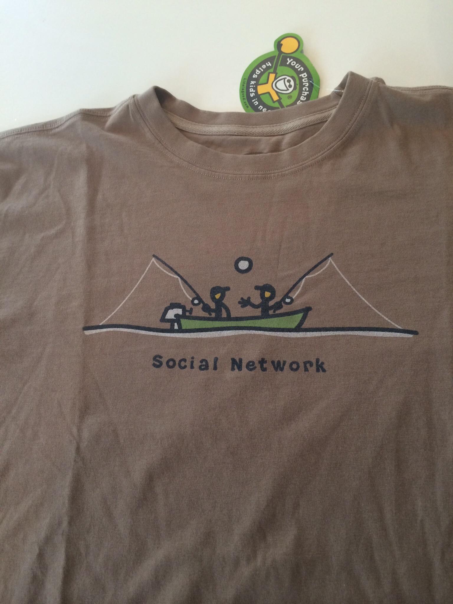 En t-shirt jag fick i veckan av min chef. En bra chef. Han förstår hur det funkar :-)