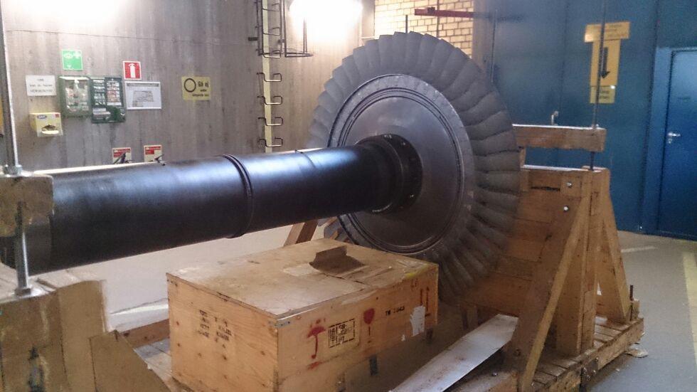 Schysst flow? En av de konstigare bilderna i min bildström - en bild på en turbin Tobbe skickat över.  Ja vi har alla olika läggningar...