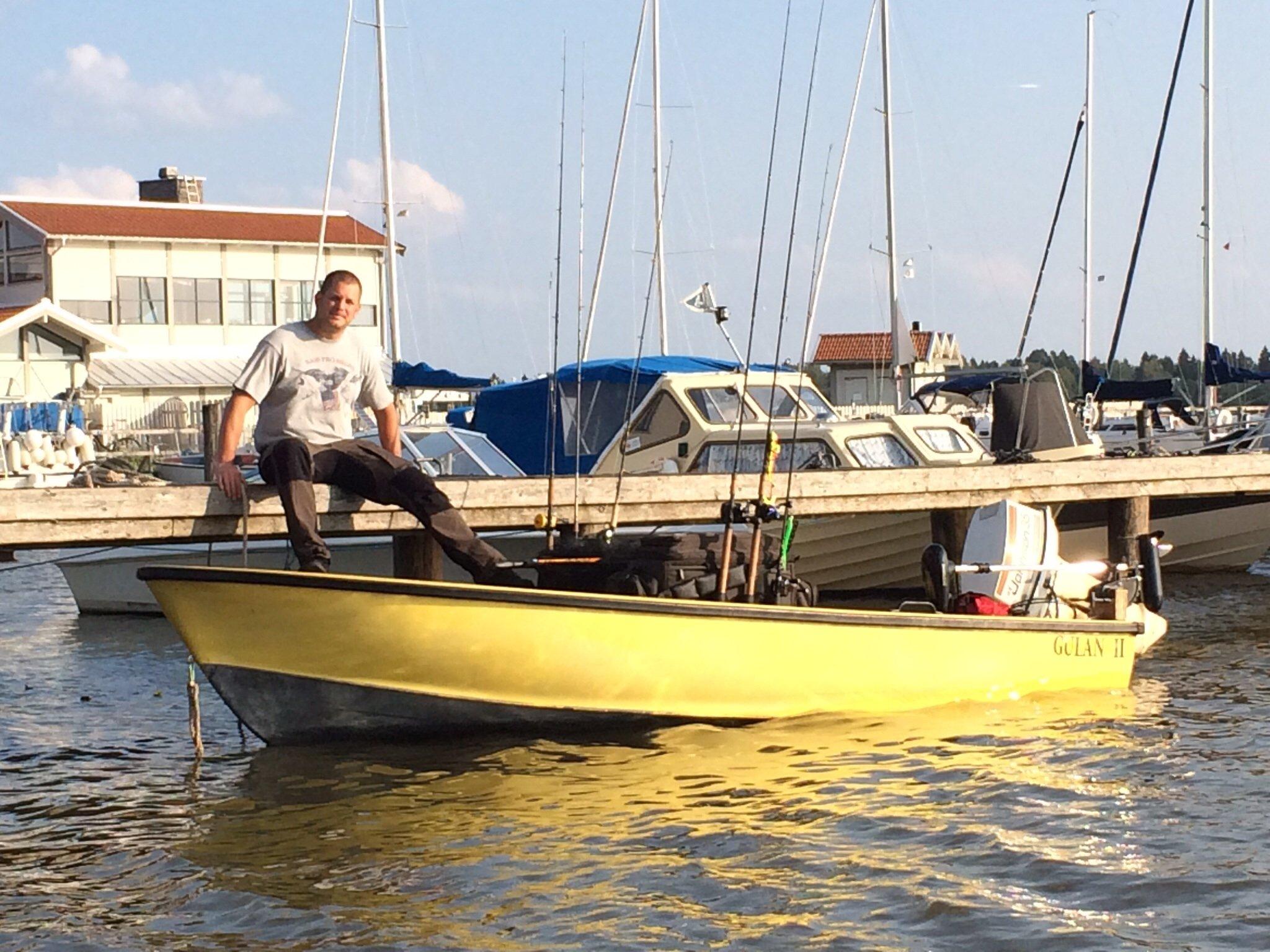 Kuttersmycket väntade på båten när jag kom till Västerås