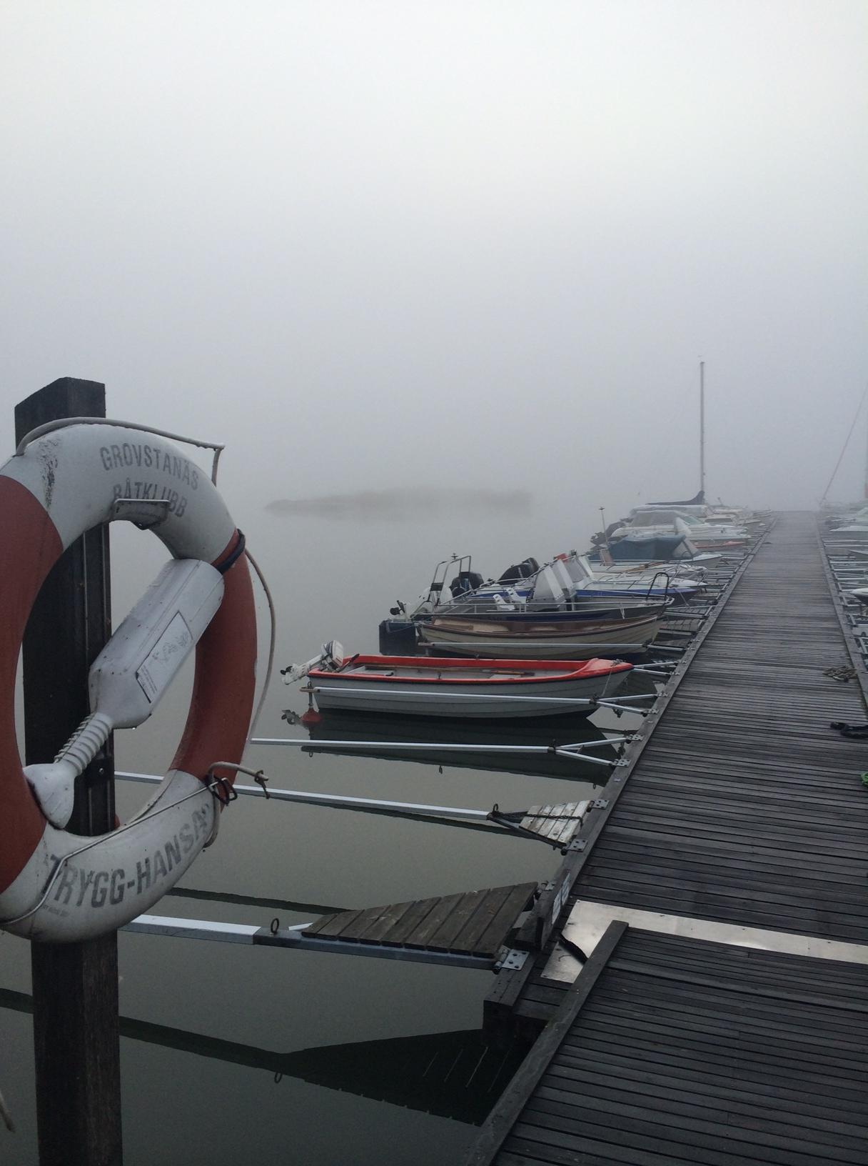 Grovstanäs Invitational 2014 på, då kommer dimman att ha lättat.