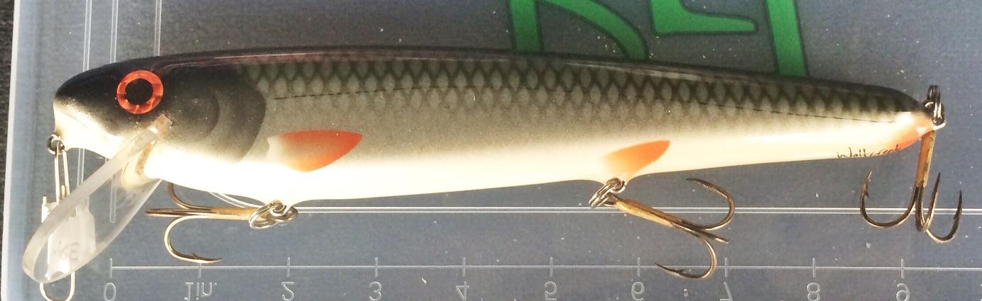 En bisarr skapelse - över 30 cm flytande crank. Om denna inte flyttar vatten vet jag inte vad. Vilken finish - vilket bete - I love