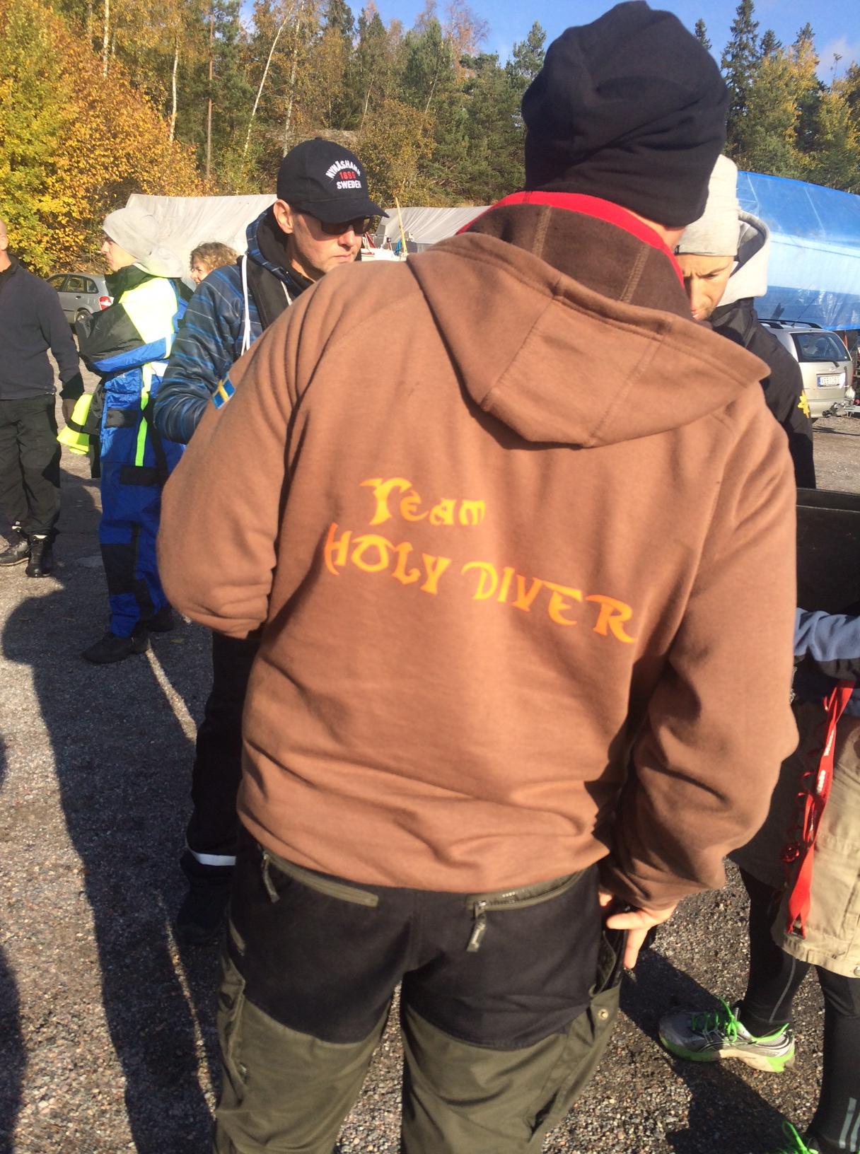 Team Holy Diver - några av många rutinerade Team