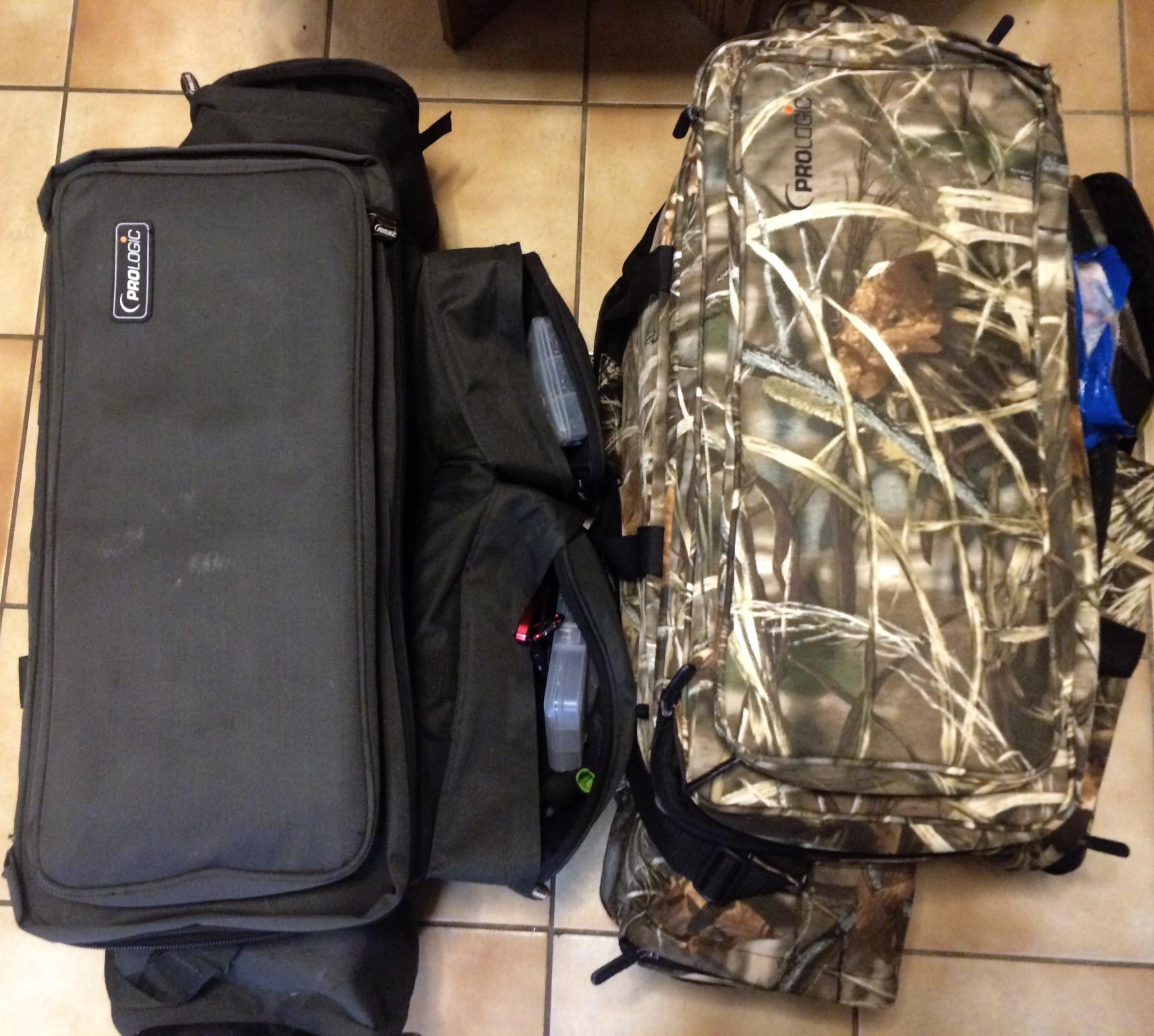Jag lyckades hitta soulmates på resan. Jag delade lägenhet med två till som hade fulla monsterbag XL som jag :-)