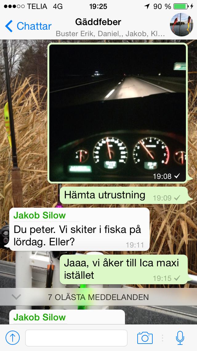 Bra fart - och dåliga skämt från Jakob
