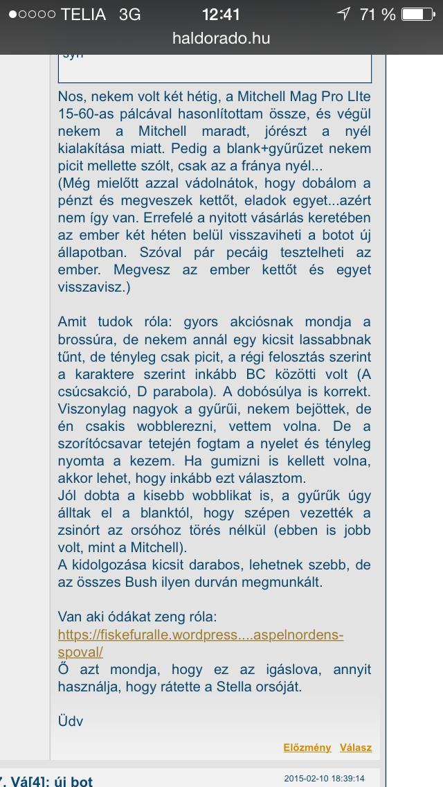 Haldorado - tycker om Manges inlägg Haspelnördens Spöval  Som fiskar gör eller vad i helsike betyder det? Hjälp från någon som kan ungerska mottages