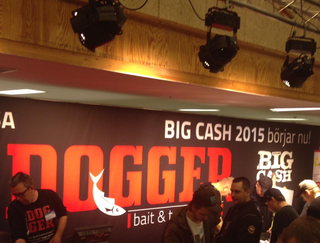 Vad händer mer, Jo Doggers grymma tävling Big Cash startade igår med 100.000:- till säsongens största C&R Gädda