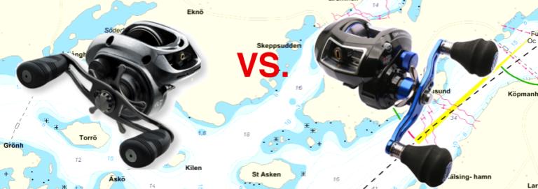 Test Revo Toro NACL vs. Daiwa Lexa 300