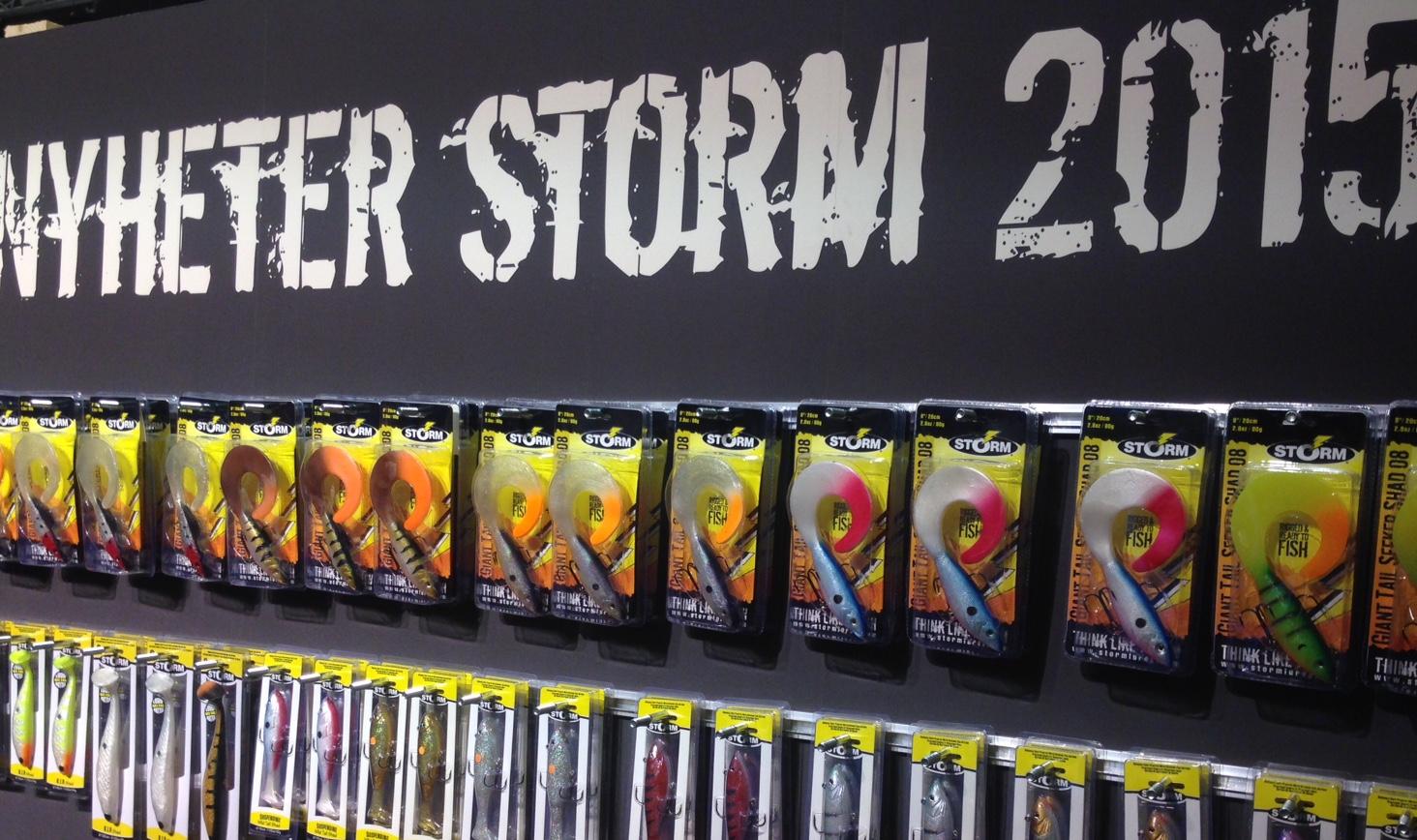 Rappalas monter presenterar lite fina nyheter från Storm - de här är finfina grejjer.